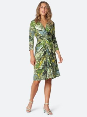 Ilse Jacobsen: bright green leaf dress  Homepage NICE7245VERT 411 300 medium 300x400