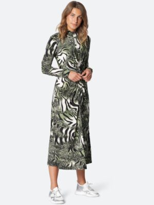Ilse Jacobsen: jungle print midi dress  Homepage SOUL7337ANIMA 411 300 large 300x400