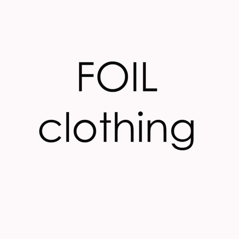Foil Clothing: navy print linen top