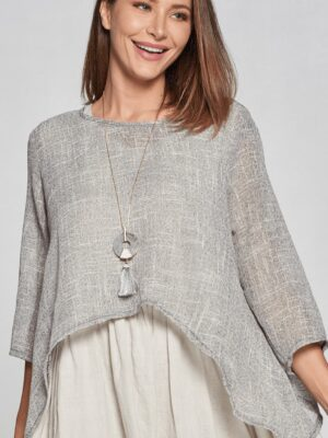 Focus: taupe over top