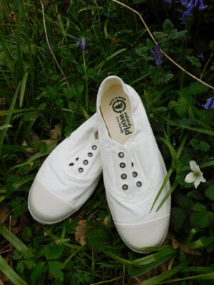 Natural World: white organic cotton pump  Homepage DSCN7512 300x400