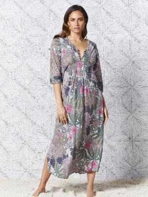 One Season: Bora Bora long print dress  Sale bora bora 300x400