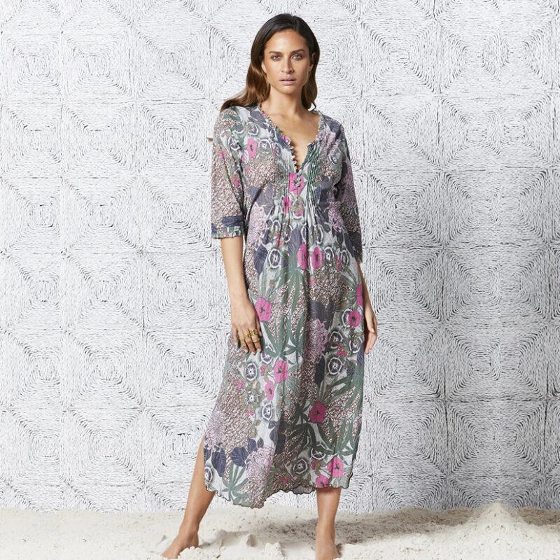 One Season: Bora Bora long print dress  Homepage bora bora