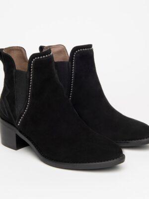 Nerogiardini: black suede shoeboots homepage Homepage I116791D 100 03 300x400