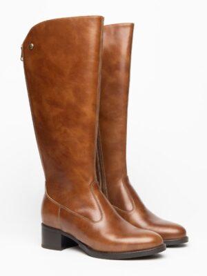 Nerogiardini: soft brown leather long boot homepage Homepage I117561D 400 03 300x400